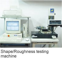 Shape/Roughness testing machine