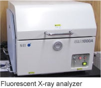 Fluorescent X-ray analyzer